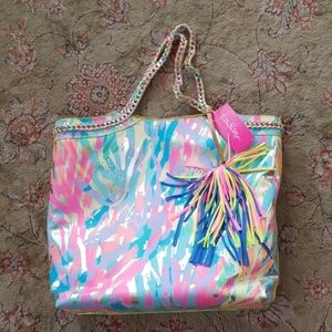 Lilly Pulitzer Reversible Seaside Tote